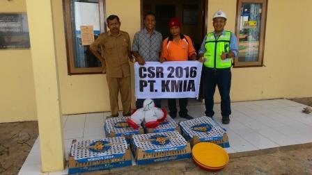 PT.Khotai Makmur Insan Abadi meluncurkan Program CSR untuk Pemberdayaan Karang Taruna Multi Usaha Desa Bhuana Jaya