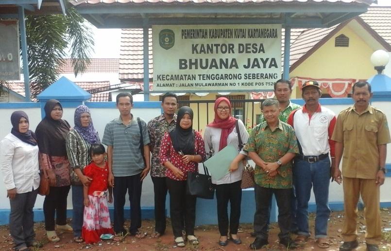 Pogram UBK ( Usaha Bersama Komonitas ) dari Kementerian Desa, Pembangunan Daerah Tertinggal dan Transmigrasi  masuk di 3 Desa di Kab. Kutai Kartanegara