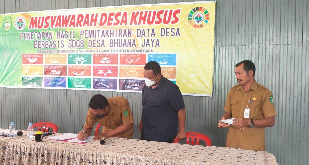 Dilaksanakannya Musyawarah Desa Khusus SDGs Desa 2021