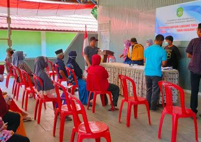 Bantuan Langsung Tunai Dana Desa Bulan Ke-4 Telah Disalurkan