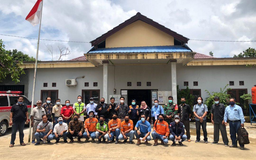 Rapat Musyawarah Antara Perusahaan / Tambang Dengan Lima Desa Binaan di Desa Suka Maju Terkait Rekrutmen Tenaga Kerja